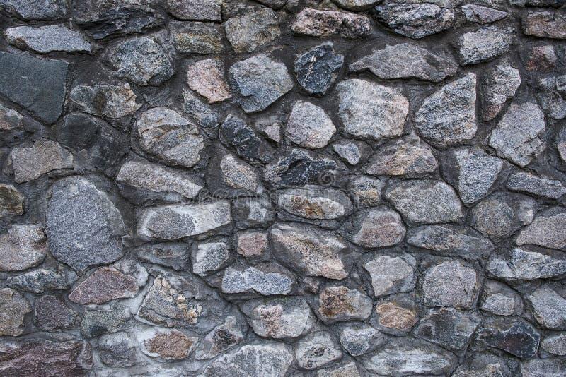 灰色石头的纹理 库存照片