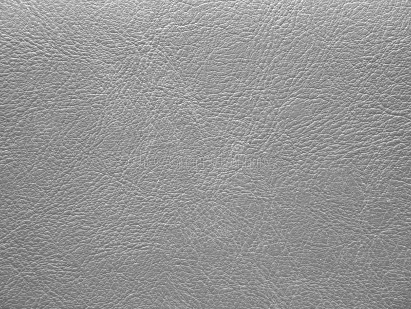 灰色纹理皮革皮肤表面背景 图库摄影