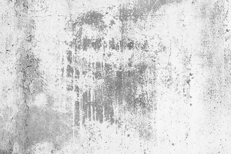 灰色背景老混凝土墙,难看的东西,石纹理 免版税库存图片