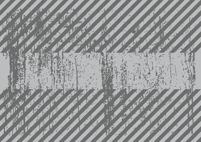 灰色背景难看的东西样式传染媒介 库存例证