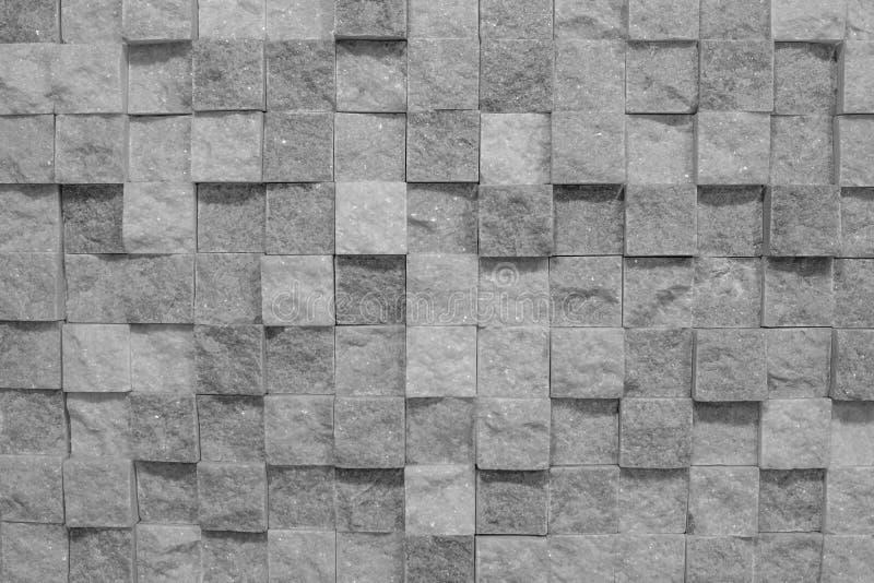 灰色背景,立方体 库存照片