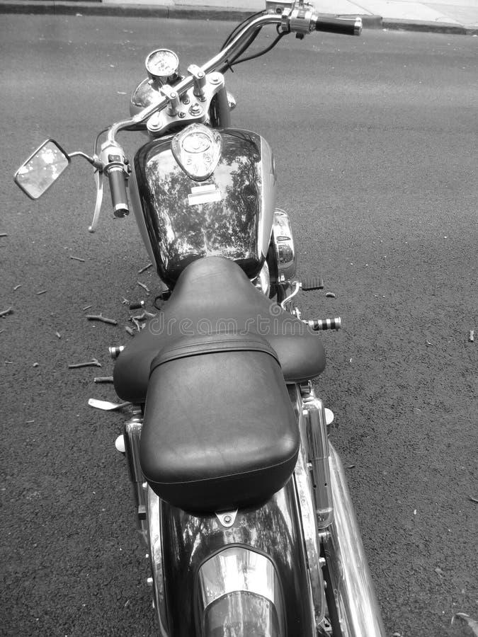 灰色脚踏车 库存照片