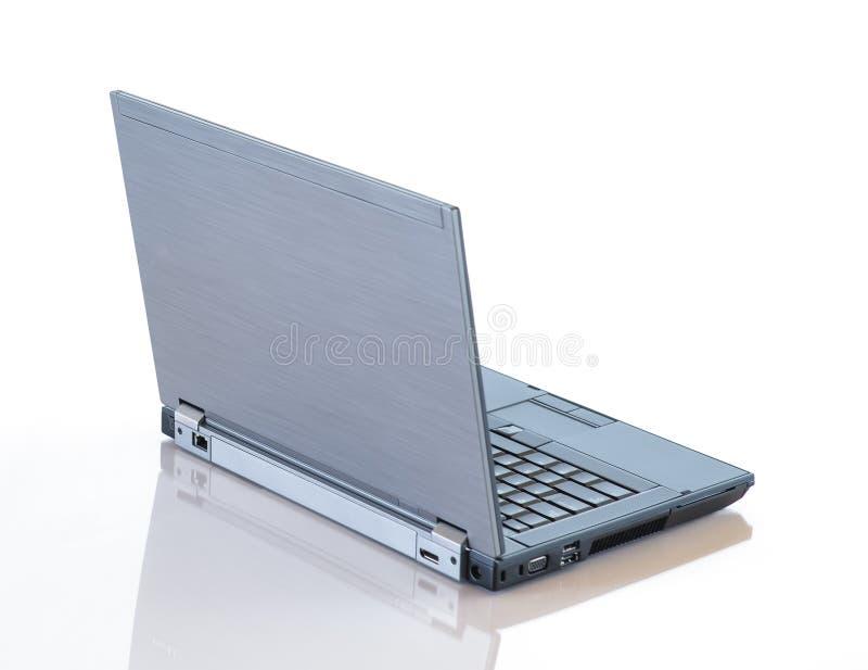 灰色膝上型计算机 免版税图库摄影