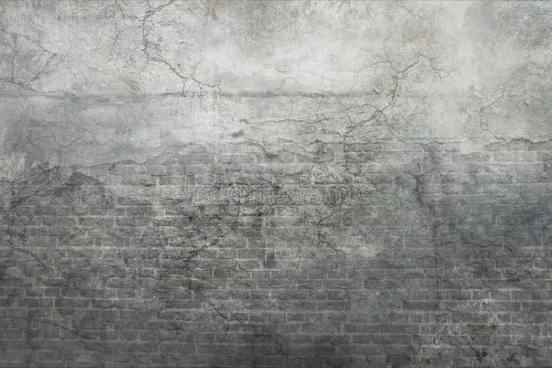 灰色葡萄酒墙壁背景 向量例证