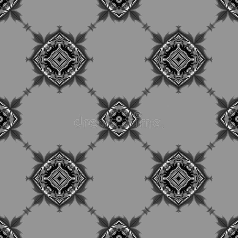 灰色葡萄酒墙纸 向量例证
