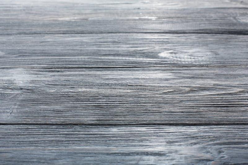灰色蓝色木纹理和背景 免版税库存图片
