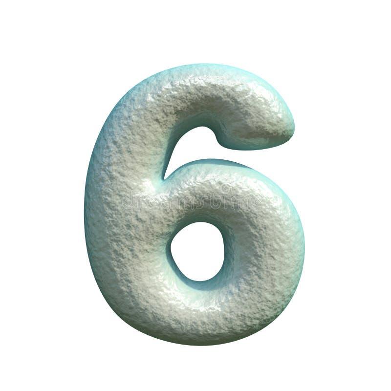 灰色蓝色黏土第6六个3D 皇族释放例证