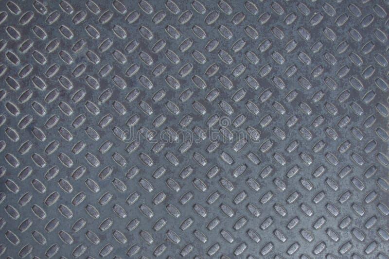 灰色金属纹理 免版税库存图片