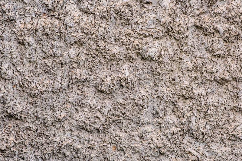 灰色难看的东西织地不很细墙壁 大微粒冲程 库存照片