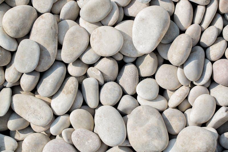 灰色鹅卵石 库存照片