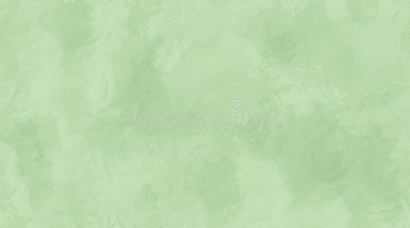 灰绿色水彩背景无缝的瓦片纹理 向量例证