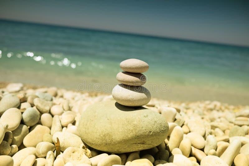 灵性和平衡 库存图片