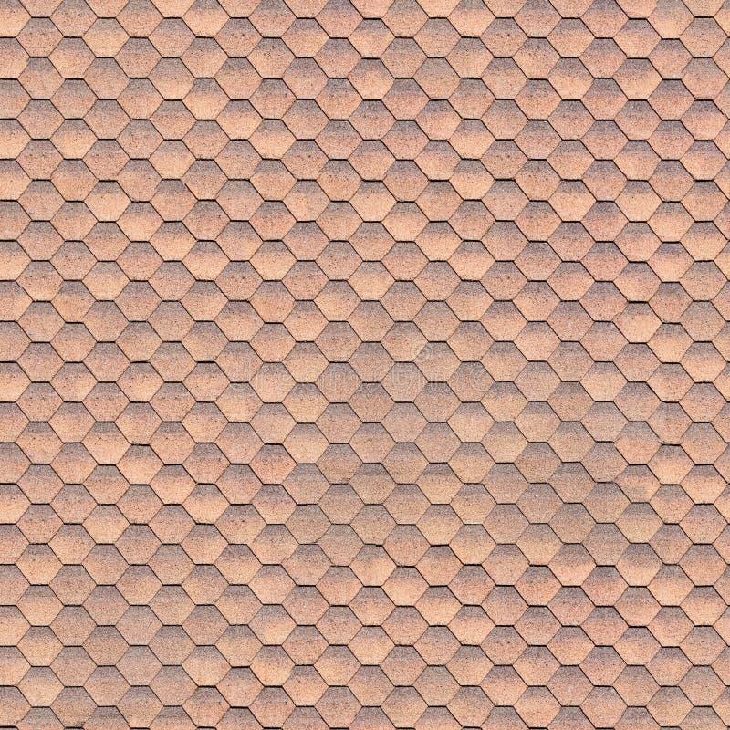 灵活的棕色瓦片,无缝的纹理 免版税库存图片
