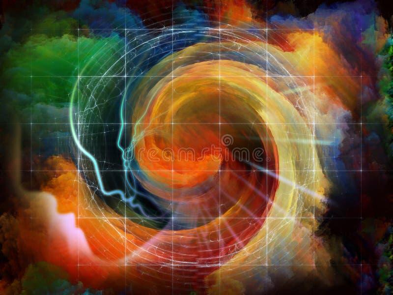 灵魂的能量 免版税库存图片