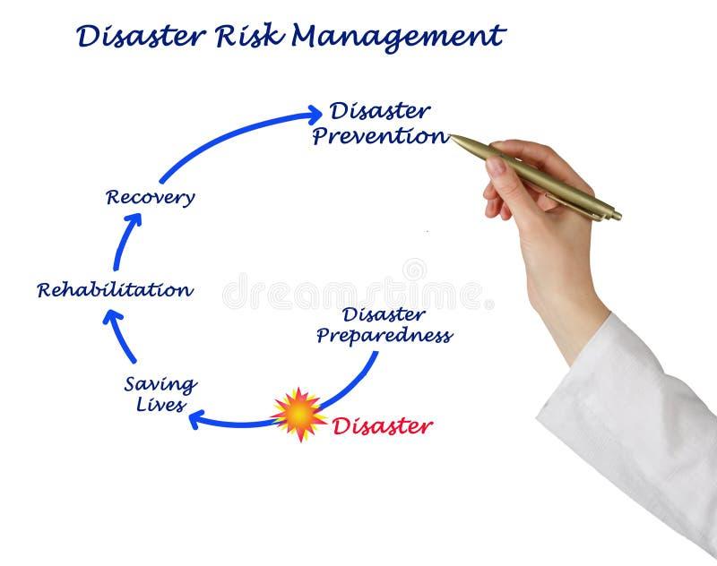 灾害风险管理 免版税库存图片