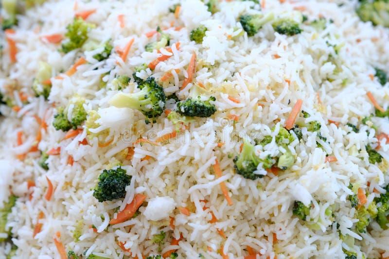 炒饭蔬菜 库存照片