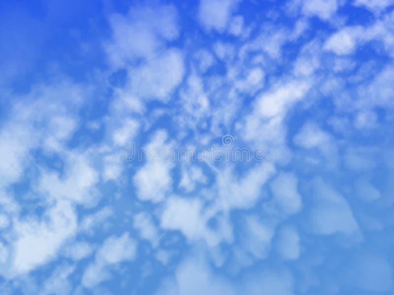 炸开的云彩天空 库存照片