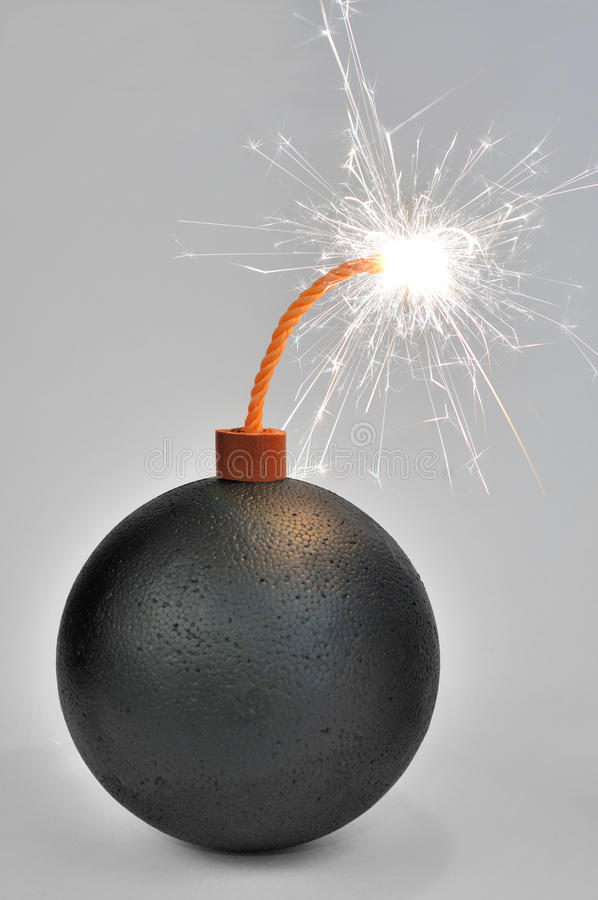 炸弹 图库摄影