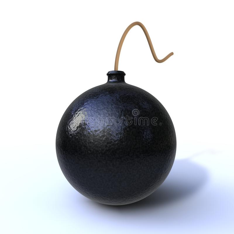 炸弹 免版税库存图片