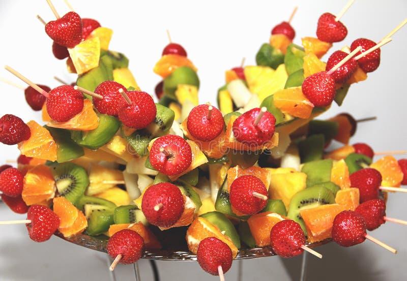 点心 被分类的果子 免版税库存图片