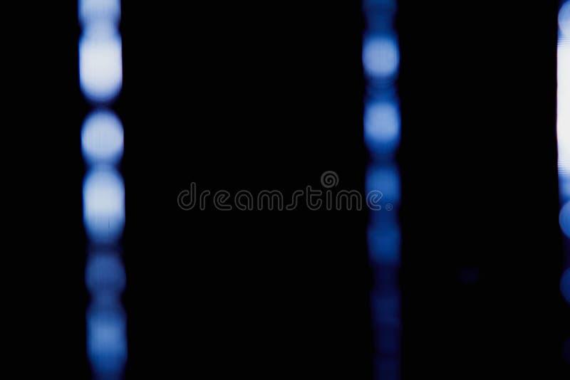 点燃数字式透镜火光强光,窗帘的城市抽象迷离点燃背景 库存照片