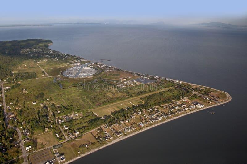 点罗伯特-半岛,美国 图库摄影