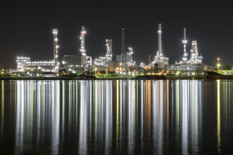 炼油厂泰国 免版税库存图片