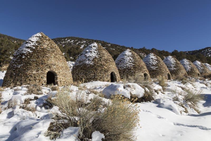 炼焦炉在死亡谷 免版税库存图片