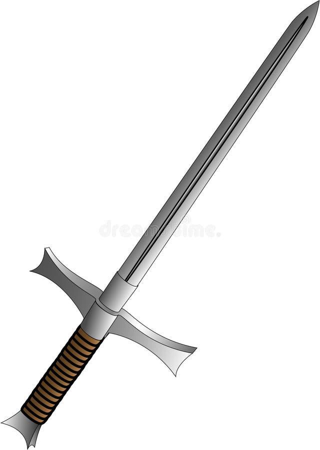 烈士剑 向量例证