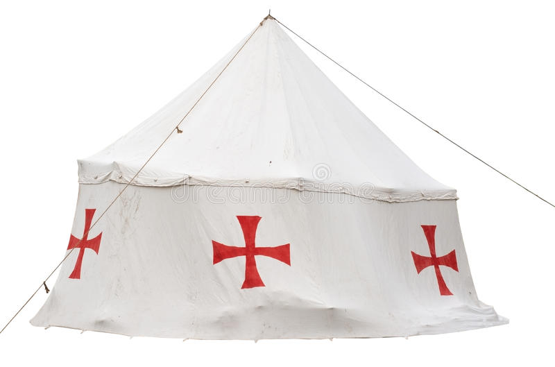 烈士的帐篷 库存图片