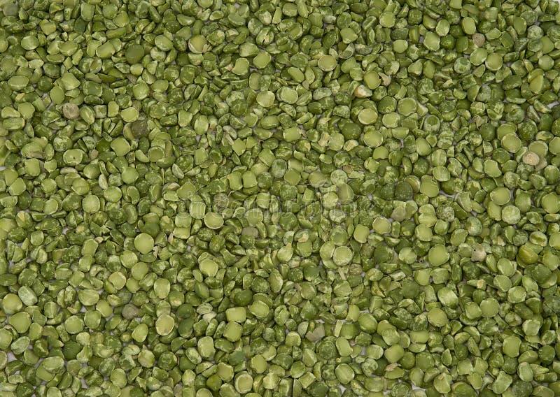 烘干分裂绿豆纹理 免版税库存照片