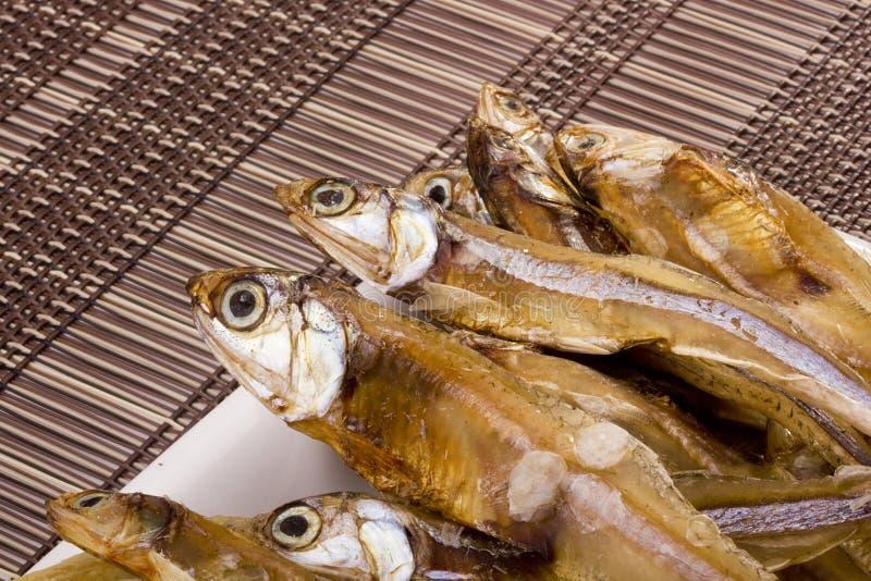 烘干鱼 库存照片