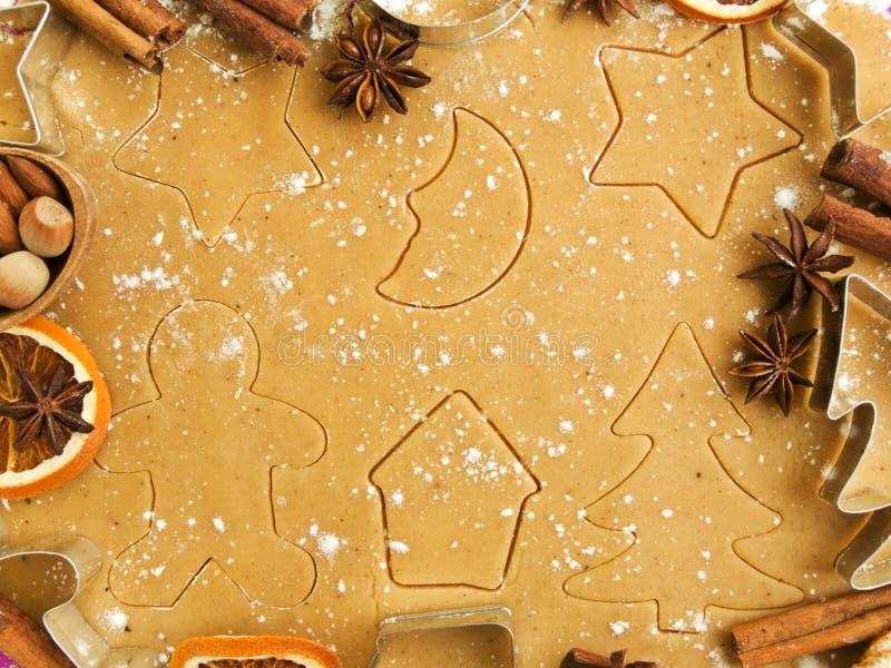 烘烤圣诞节 免版税库存图片