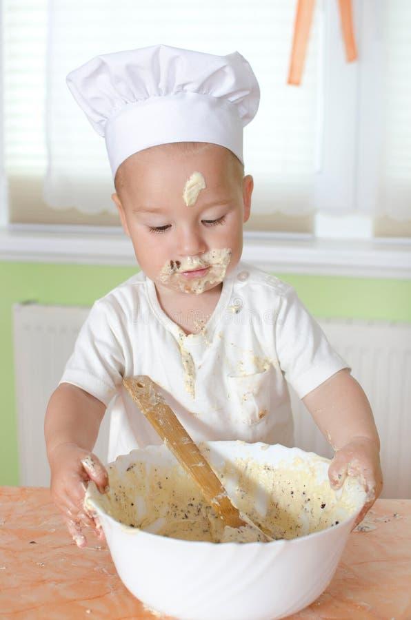 烘烤的蛋糕 图库摄影