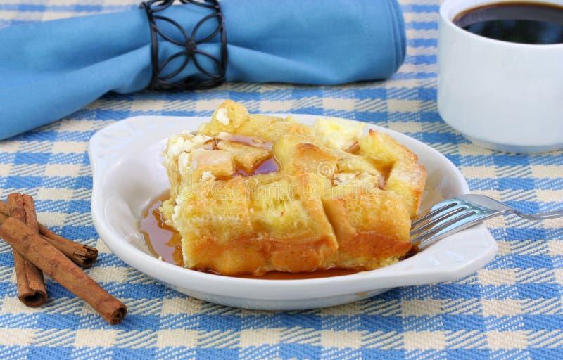烘烤面包早餐法语 库存照片