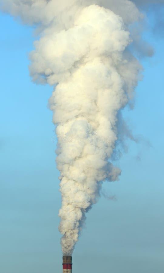 烟含毒物 免版税库存图片