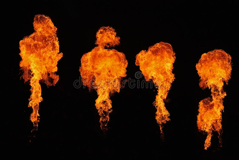 烟火制造术阶段 库存照片