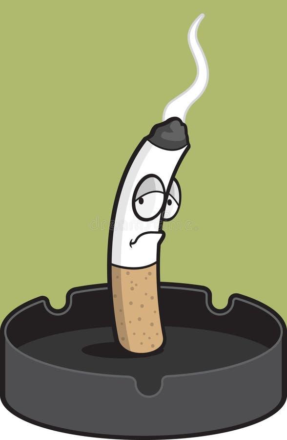 烟灰缸 库存例证