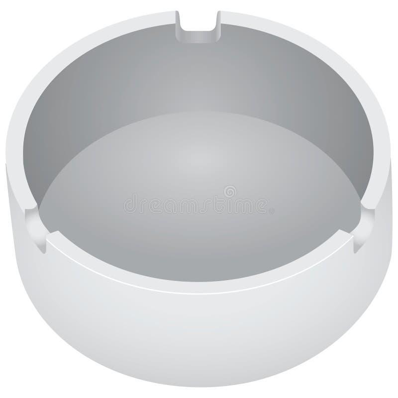 烟灰缸 向量例证