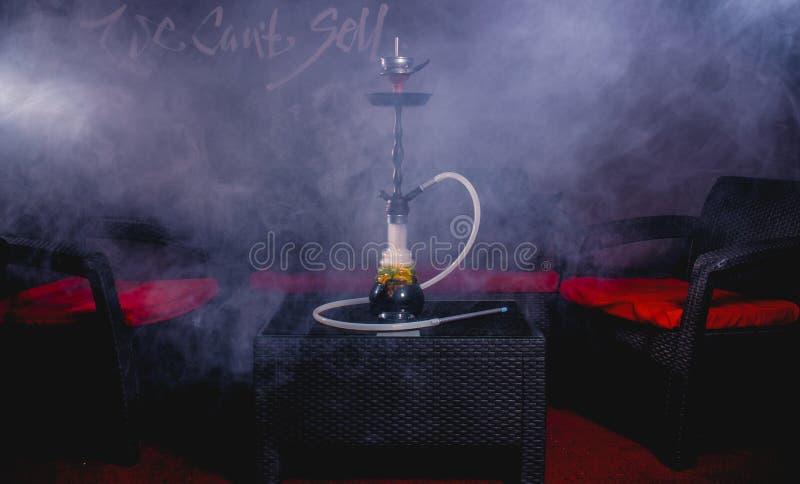 水烟筒烟 免版税库存图片