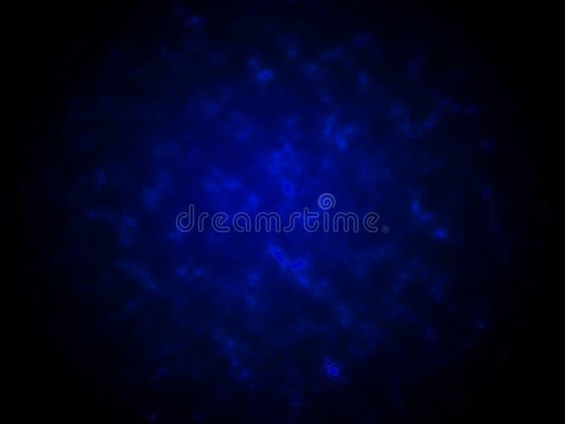 烟纹理摘要蓝色背景 库存图片