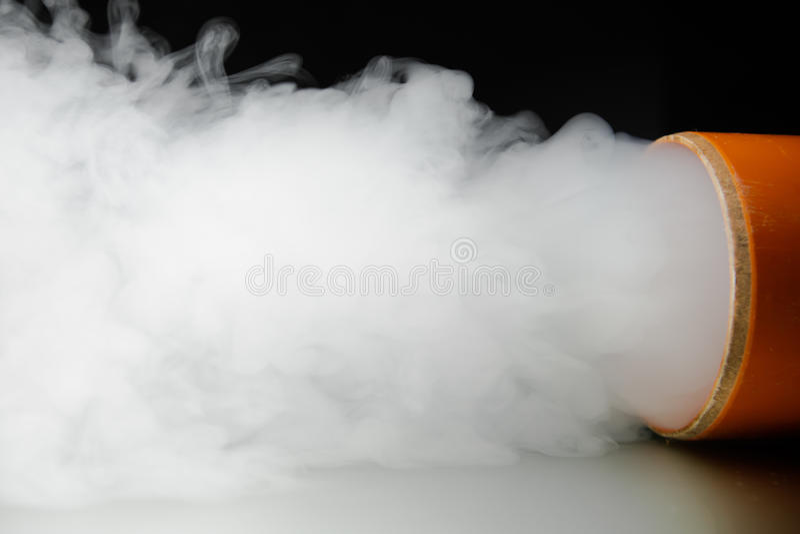 烟背景和浓雾 库存图片