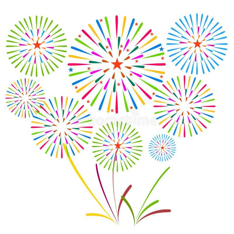 Download 烟花显示新年和所有庆祝例证 向量例证. 插画 包括有 地区, 城市, 庆祝, 7月, 节日, 多彩多姿, 狂欢节 - 59106804