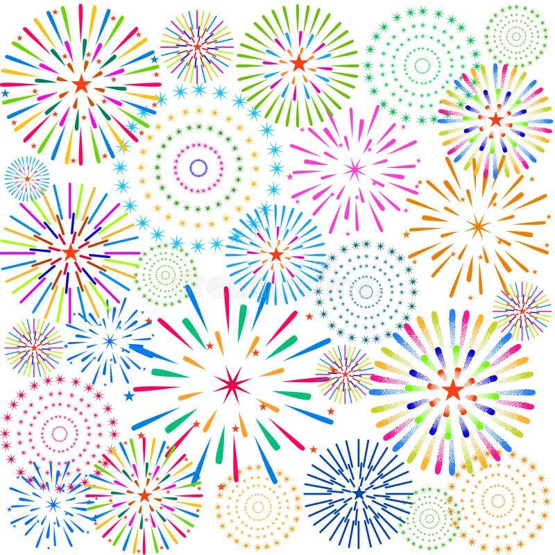 Download 烟花显示新年和所有庆祝例证 向量例证. 插画 包括有 显示, 闪光, 地区, 日历, 背包徒步旅行者, 庆祝 - 59107259