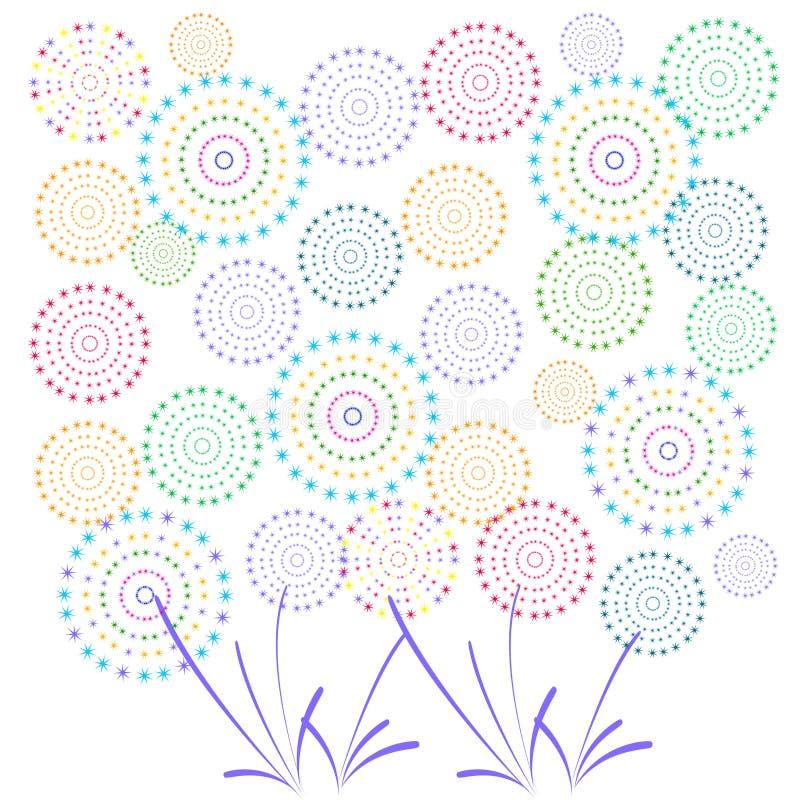 Download 烟花显示新年和所有庆祝例证 向量例证. 插画 包括有 狂欢节, 闪光, 独立, 显示, 当事人, 城市, 日历 - 59107364