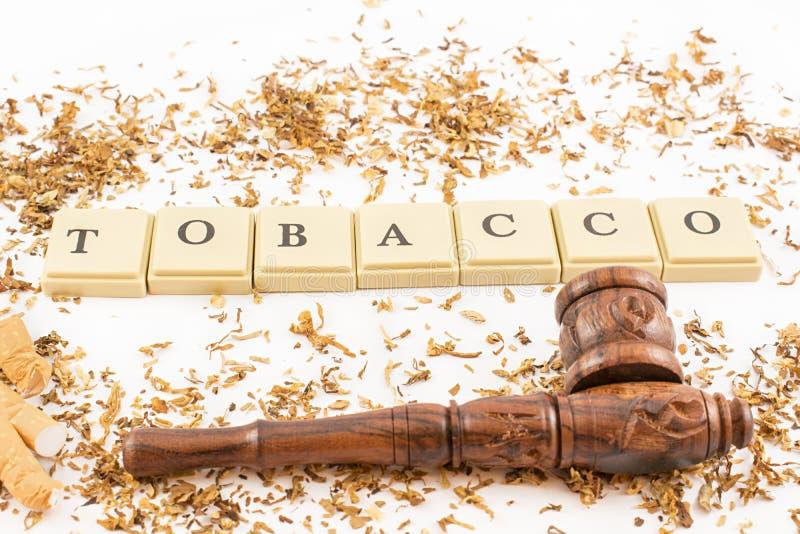 烟草、管子和香烟 库存图片