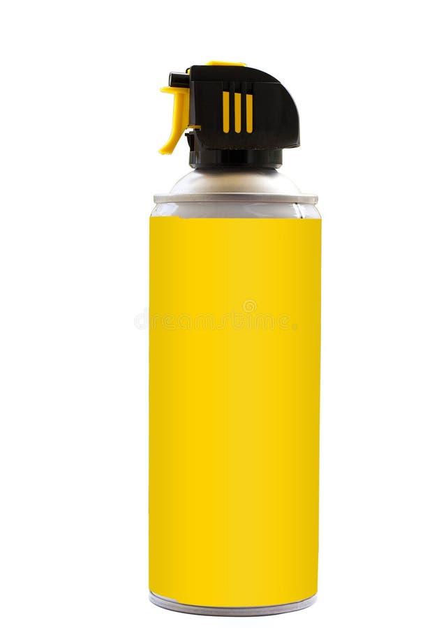 烟雾剂喷射 免版税库存图片