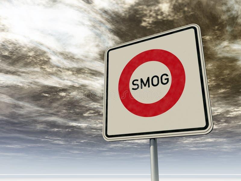烟雾 向量例证