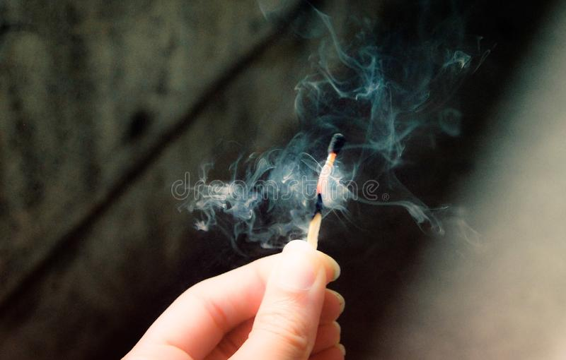 烟 免版税库存照片