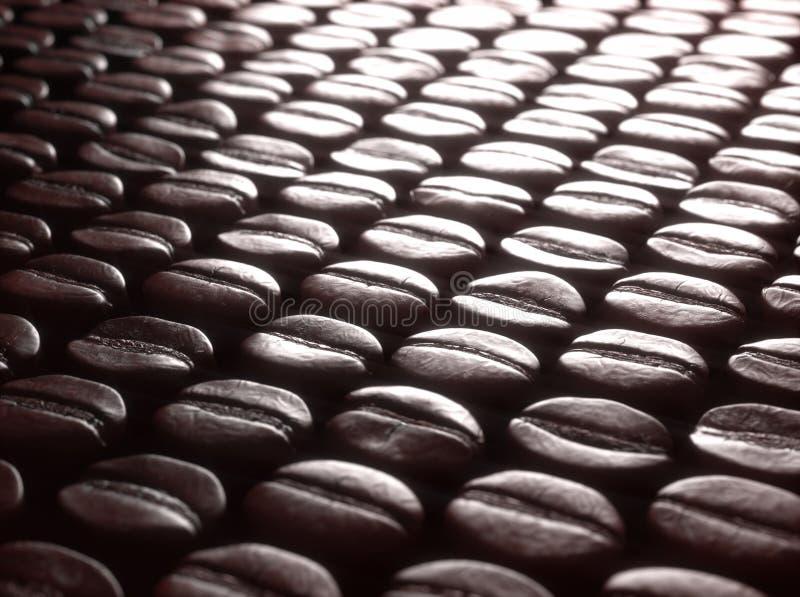 烤咖啡豆选择 免版税库存照片